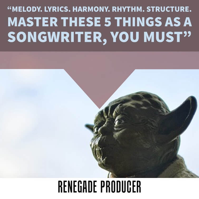 Yoda tip on songwriting