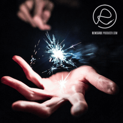 Image of hand with a sparkler