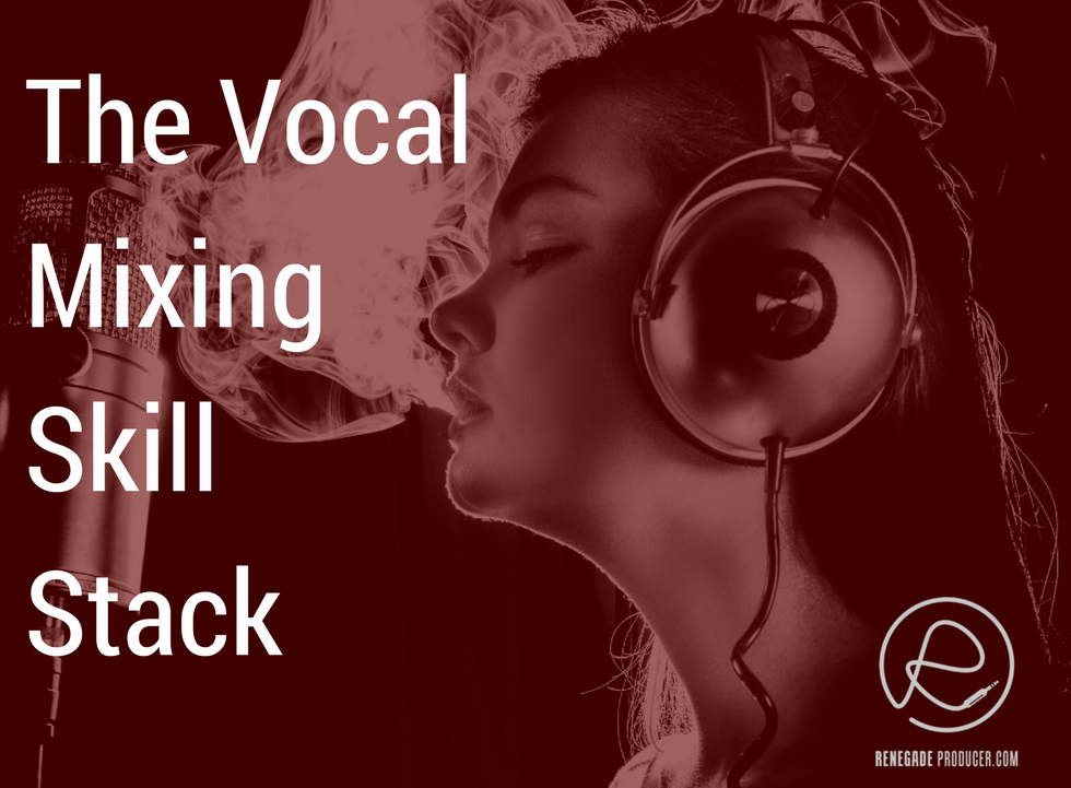 Vocal Mixing Skill Stack Hero Image