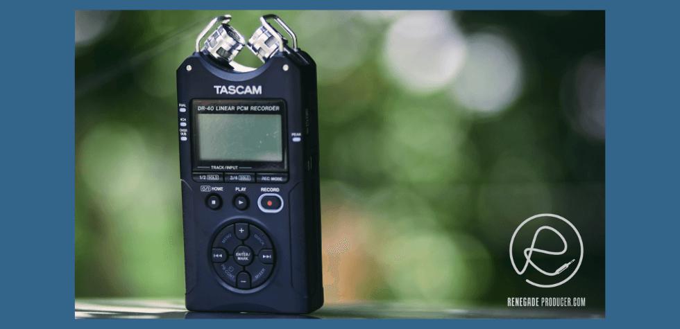 Image of Handheld Recorder