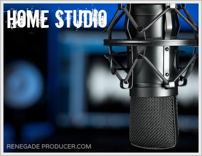 Home Studio Microphone Image