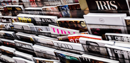 Image of Magazine Stand
