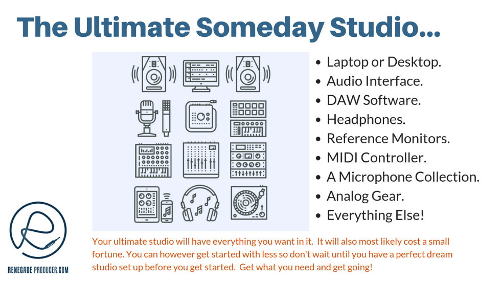 The Semi-Pro Studio Setup Image