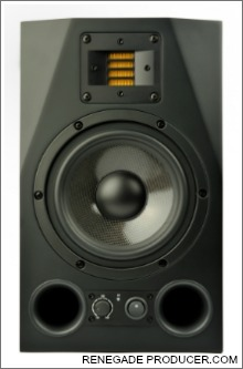 Image of a single studio monitor