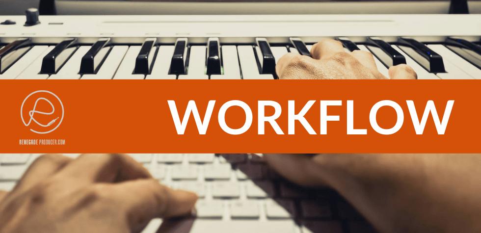 Music Production Workflow Hero Image